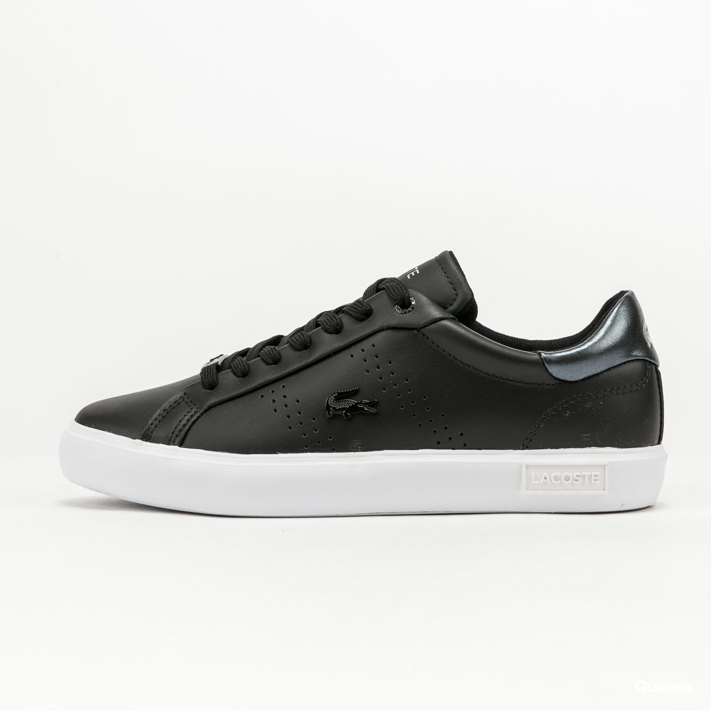 LACOSTE Powercourt Leather 2.0 black / white