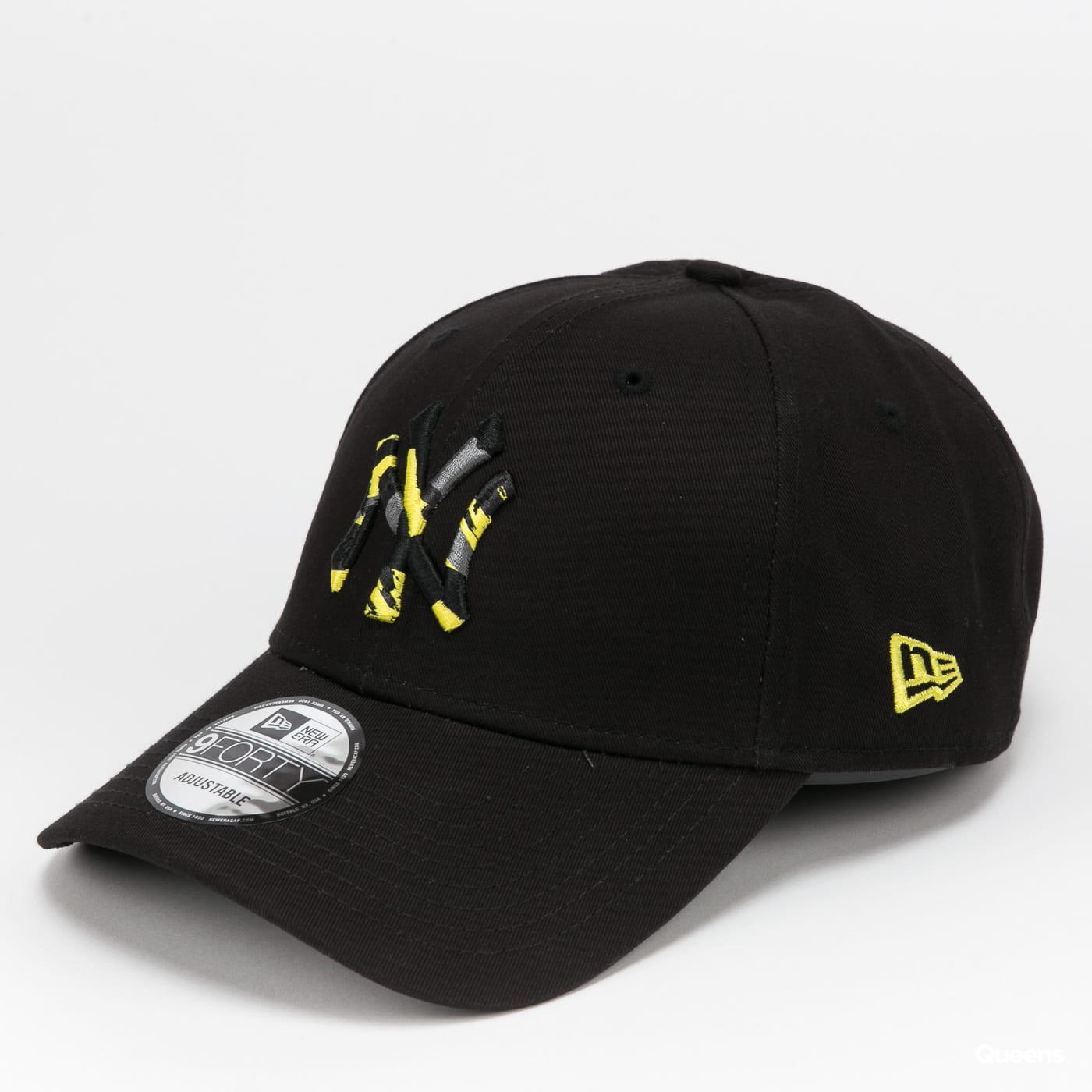 New Era 940 MLB Camo Infill NY gray / beige / pink / black