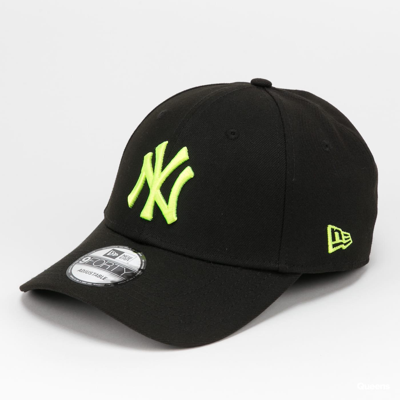 New Era 940 MLB Pop Logo NY gray / beige / pink / black