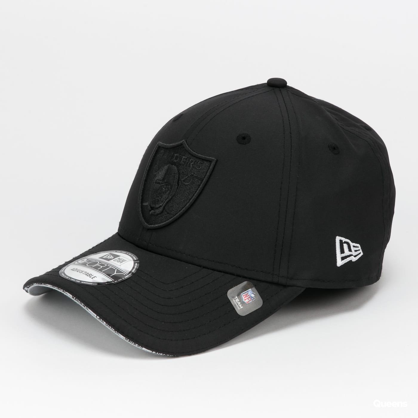 New Era 940 NFL Pipe Pop Raiders černá / šedá