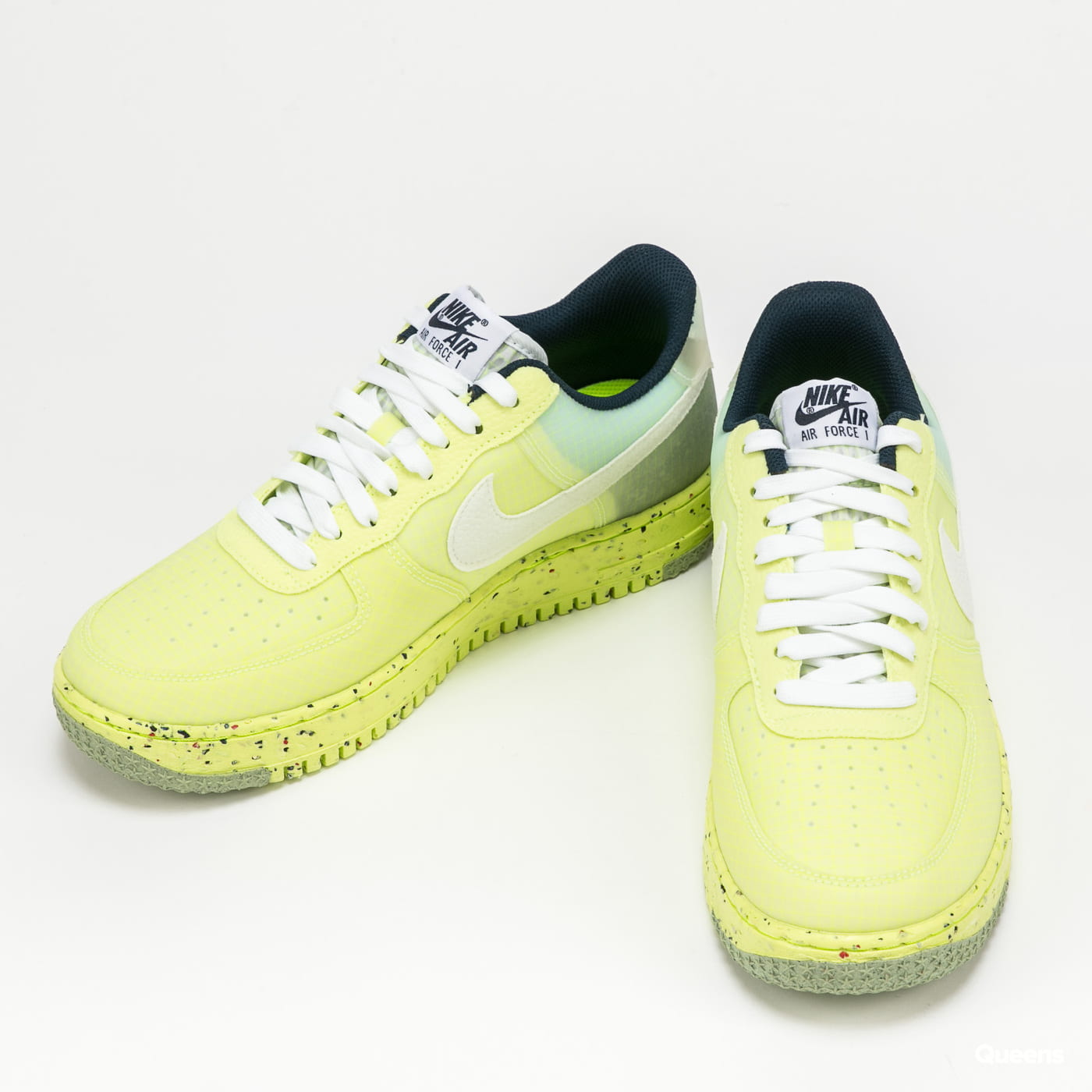Nike Air Force 1 Crater lt lemon twist / white