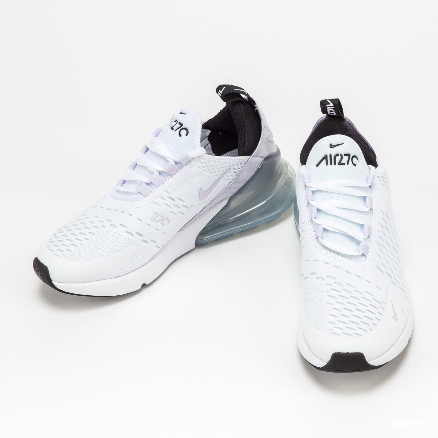 Nike Air Max 270 (GS) white / pure violet - black