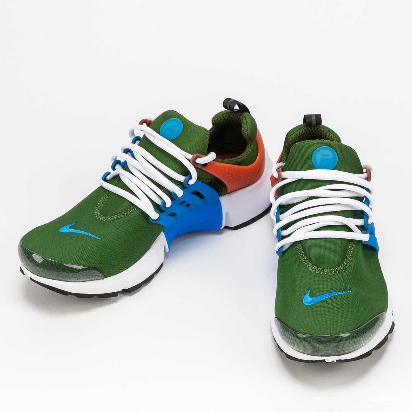 Nike Air Presto forest green / photo blue