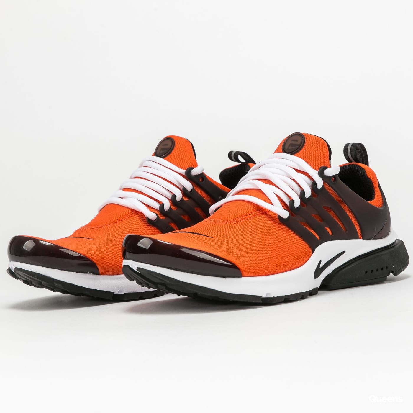 Nike Air Presto orange / black - white
