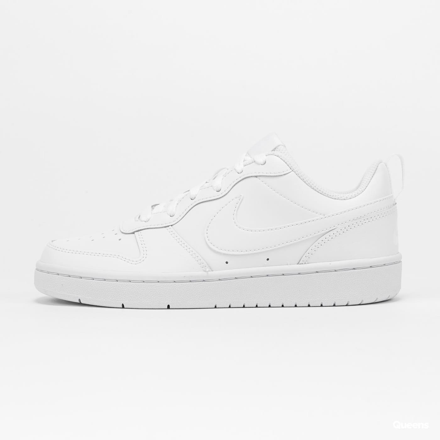 Nike Court Borough Low (GS) white / white - white