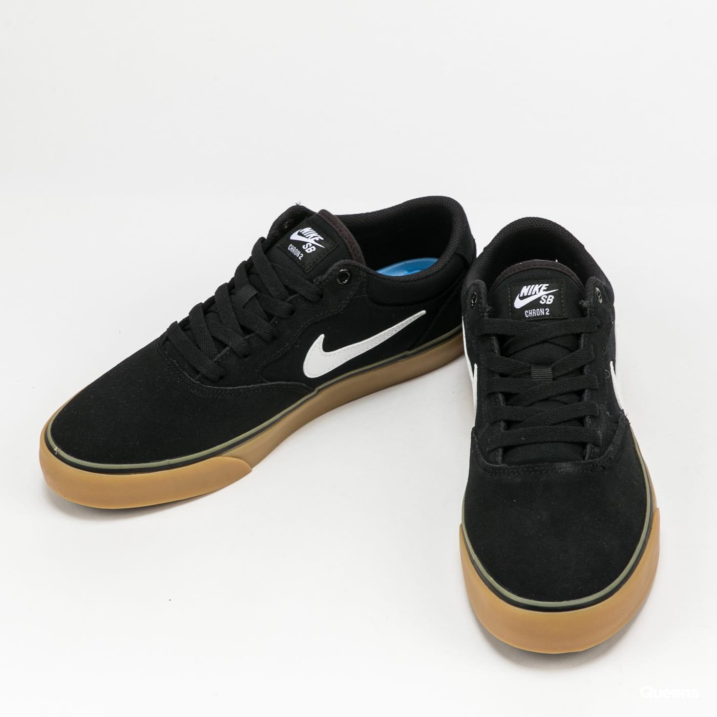 Nike SB Chron 2 black / white - black