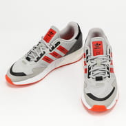 adidas Originals ZX 1K Boost grey two / semi solar red / cwhite