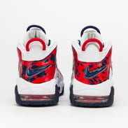 Nike Air More Uptempo (GS) white / university red - blue void