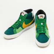Nike SB Zoom Blazer Mid Premium aloe verde / university gold