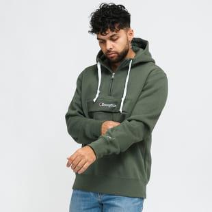 Champion Half Zip Hooded Sweatshirt