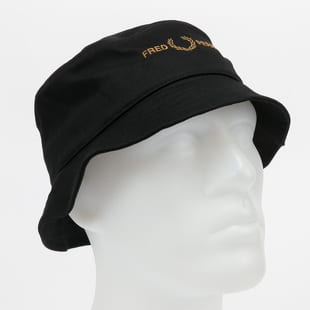 FRED PERRY Branded Twill Bucket Hat