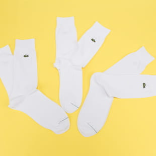 LACOSTE Cotton Blend Socken 3er-Pack