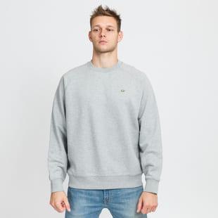LACOSTE Live Loose Cotton Fleece Sweatshirt