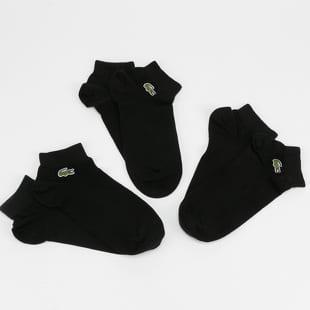 LACOSTE Low-Cut Cotton Socken 3er-Pack