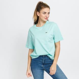 LACOSTE W Crew Neck Premium Cotton T-shirt