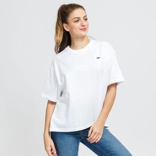 LACOSTE W Live Loose Cotton T-shirt