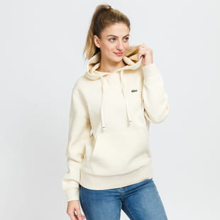 LACOSTE W Loose Fit Cotton Blend Hoodie