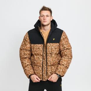 Lyle & Scott Earth Print Wadded Jacket