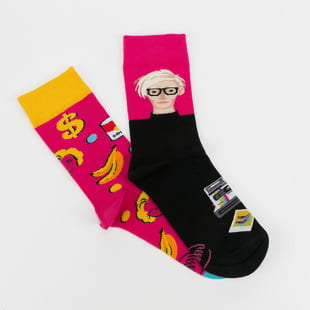 Many Mornings Pop Art Socks