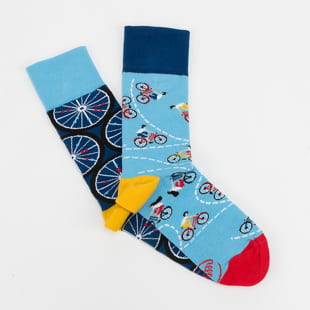 Many Mornings The Bicycles Socks
