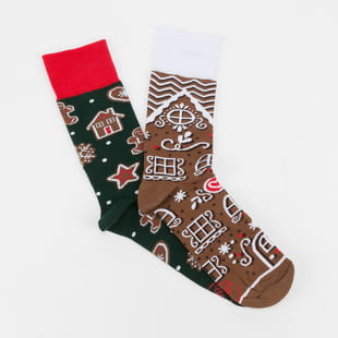 Many Mornings The Gingerbread Man Socks