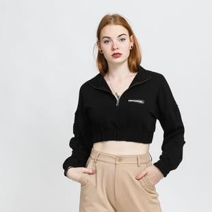 Sixth June Zip Up Crop Sweatshirt