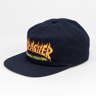 Thrasher Fire Logo Snapback
