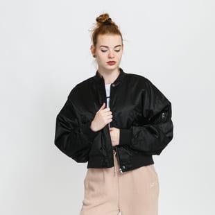 Urban Classics Ladies Short Oversized Satin Bomber Jacket