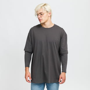Urban Classics Oversized Shaped Double Layer LS Tee