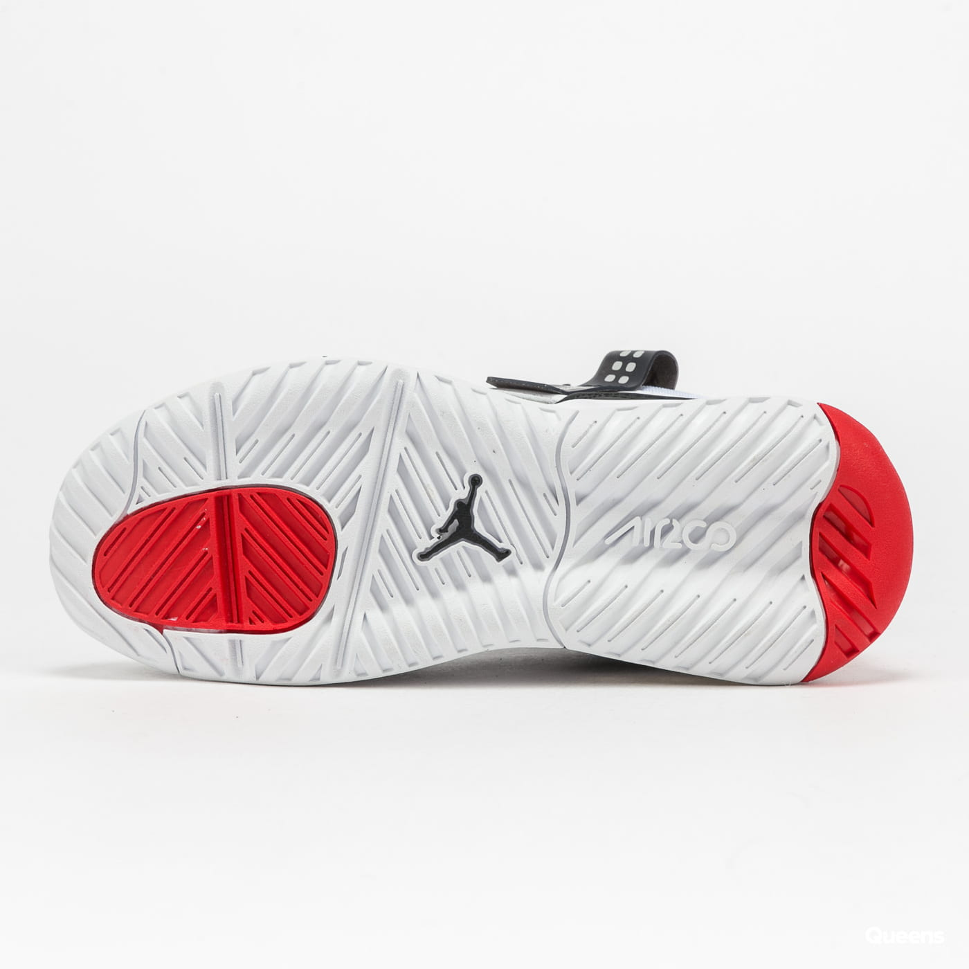 Jordan MA2 white / black - university red