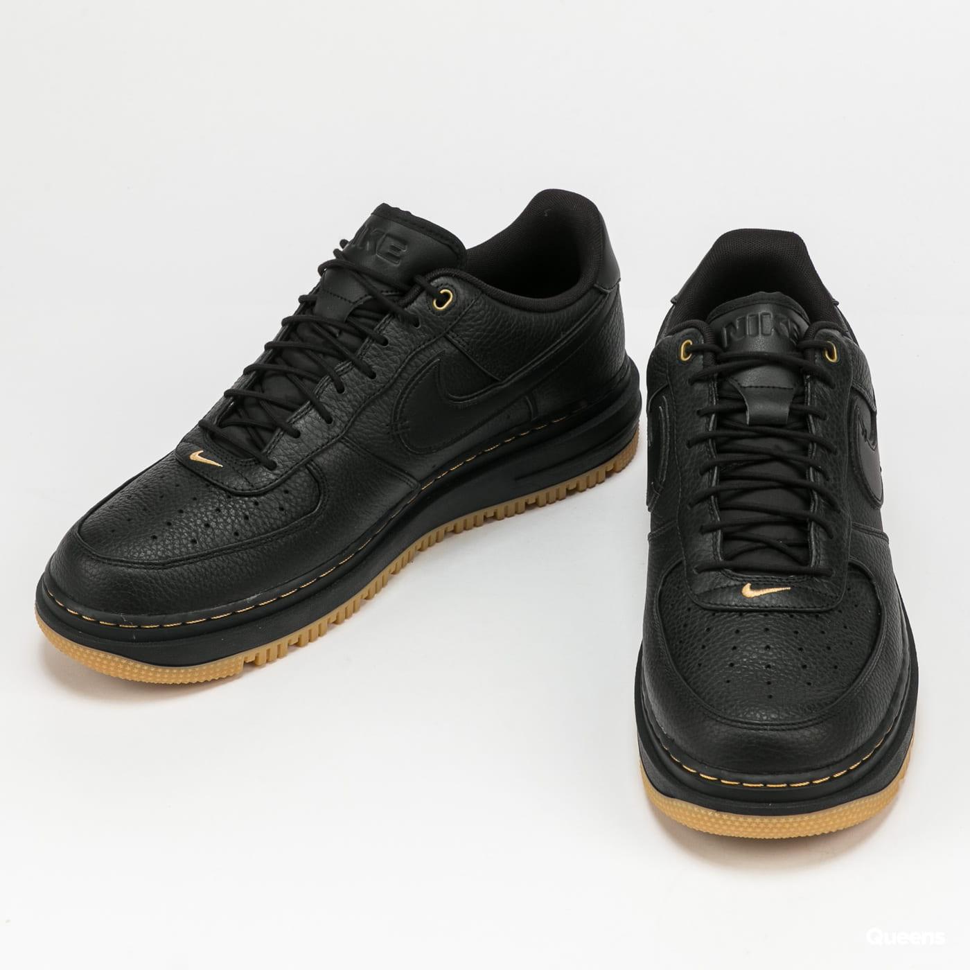 Nike Air Force 1 Luxe black / black - bucktan - gum - yellow