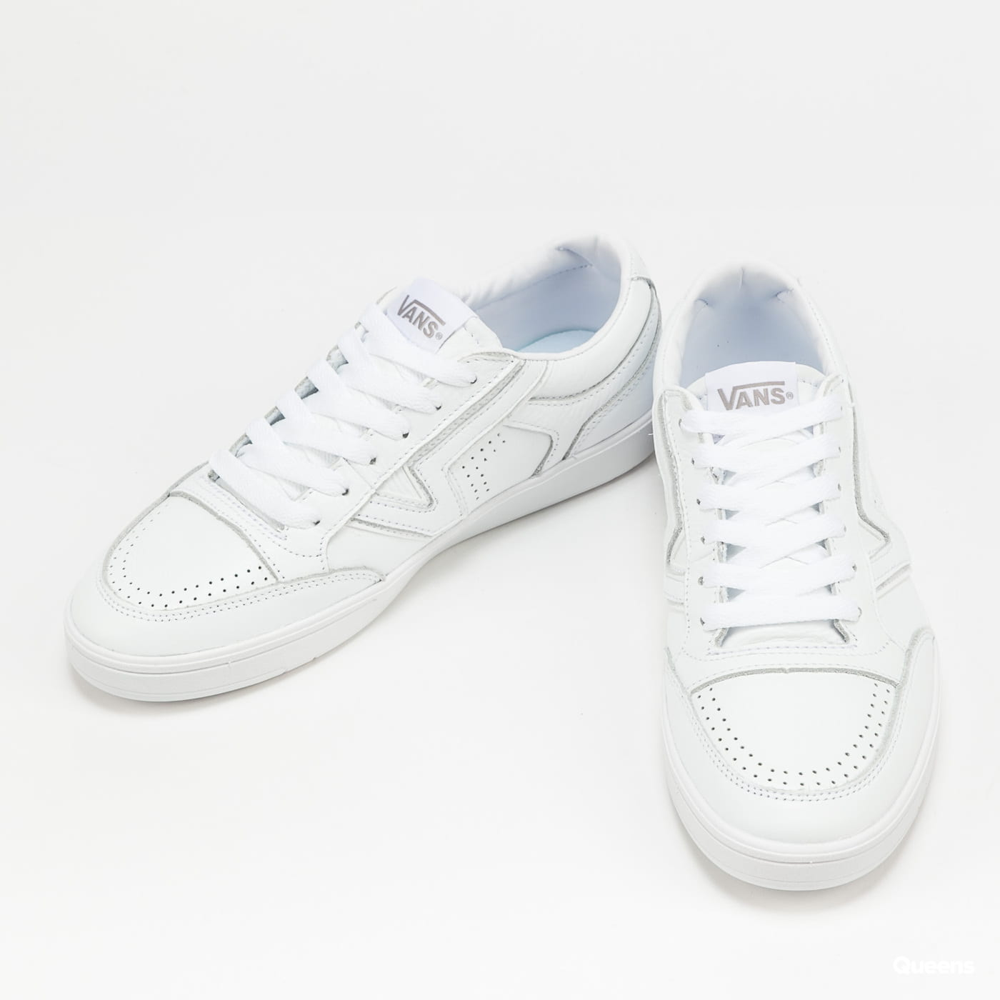 Vans Lowland CC (leather) true white / true white