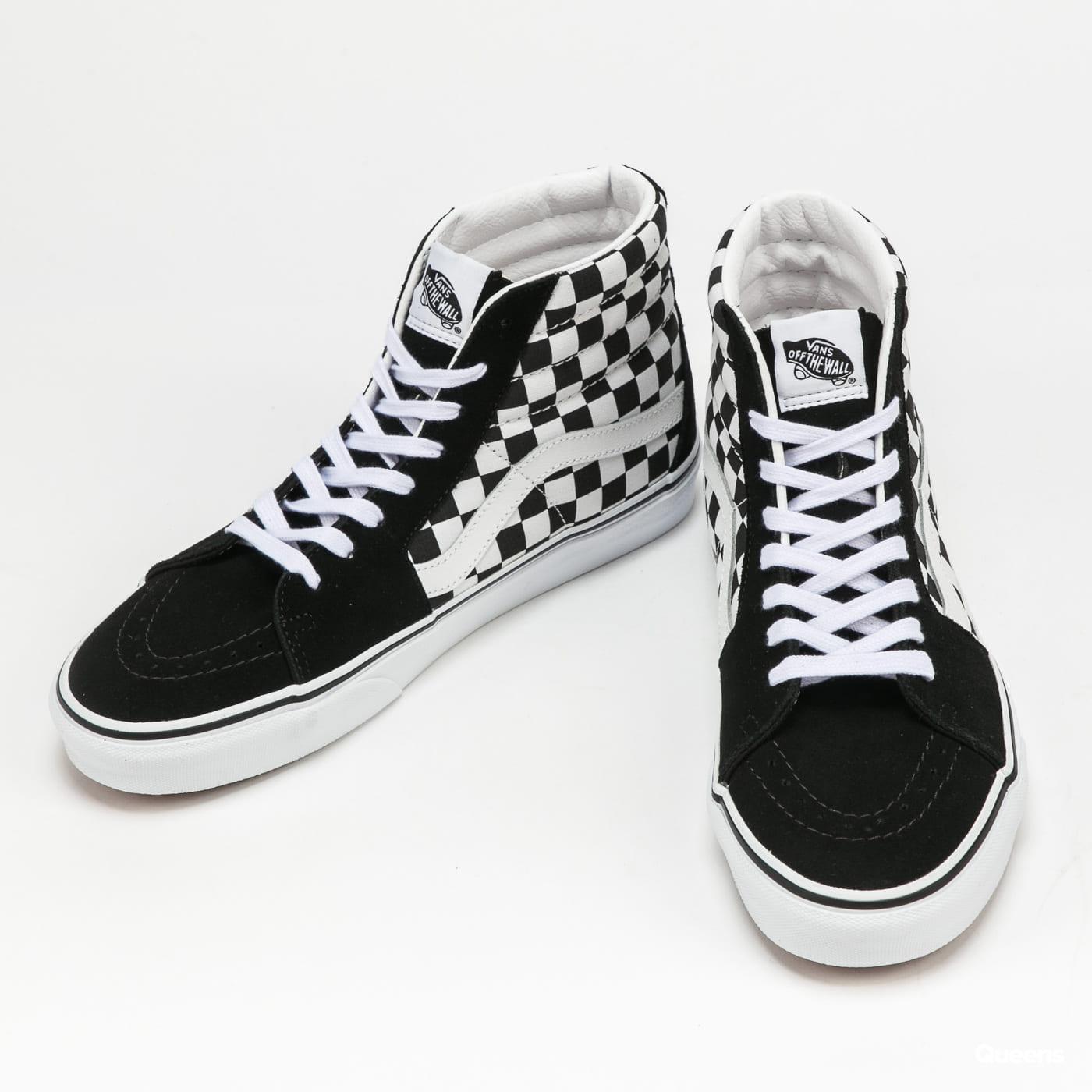Vans SK8 - Hi (checkerboard) black / true white