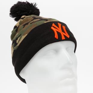 New Era MLB Mens Camo Crown Cuff Knit