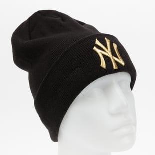 New Era MLB Wmns Metallic Logo Cuff Knit