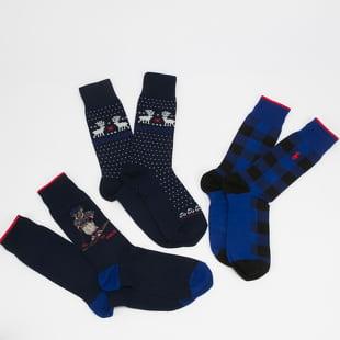 Polo Ralph Lauren 3Pack Crew Sock