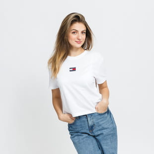 TOMMY JEANS Tommy Center Badge Tee