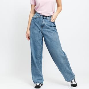 Urban Classics Ladies High Waist 90'SWide Leg Denim Pants