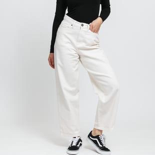 Urban Classics Ladies High Waist Wide Leg Cropped Denim Pants