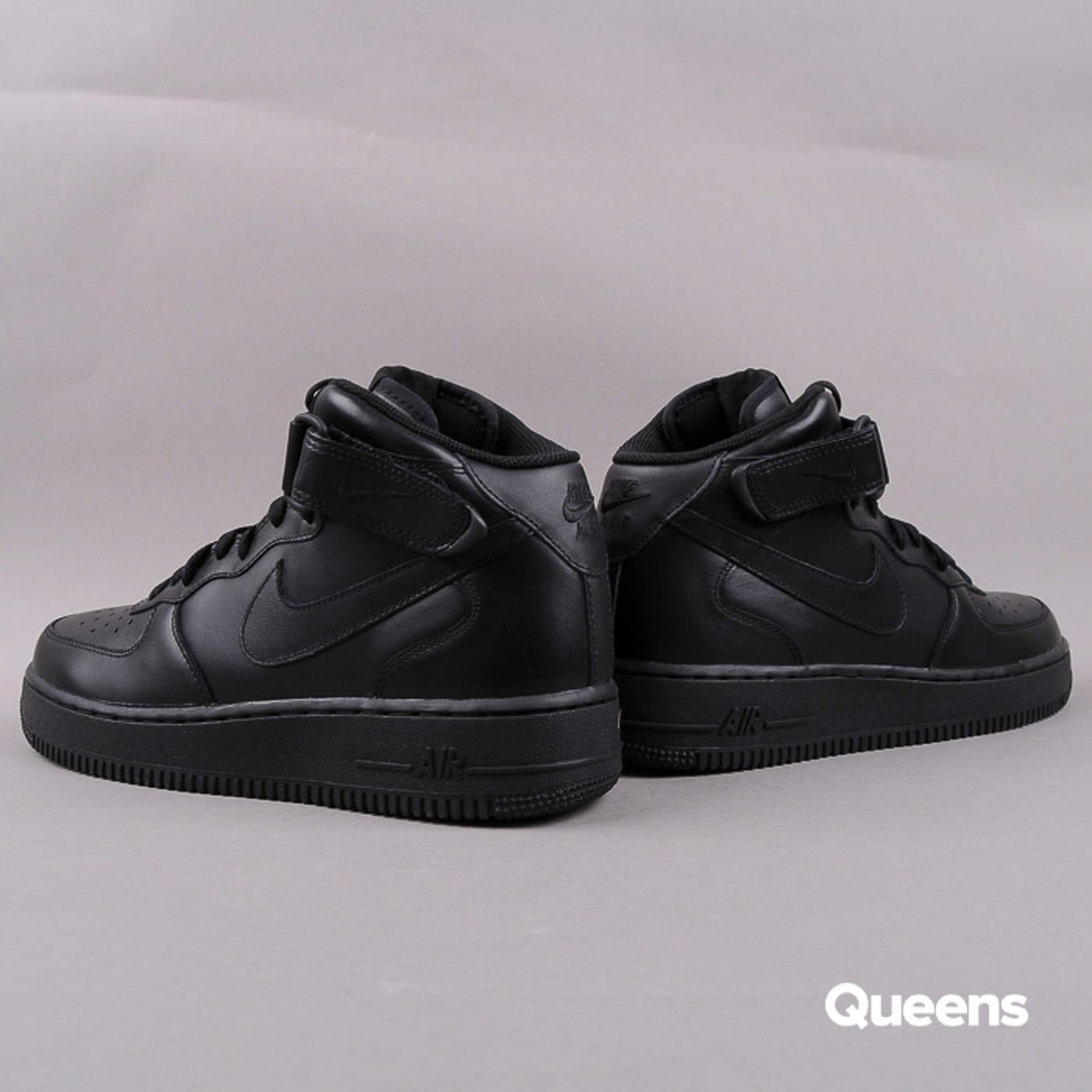 Nike Air Force 1 Mid '07 black / black - black