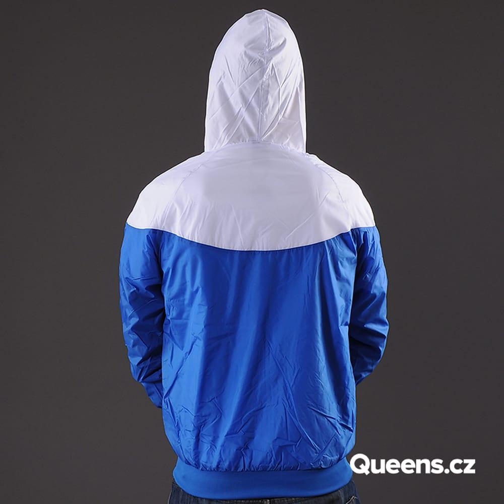 Urban Classics Arrow Windrunner blau / weiß
