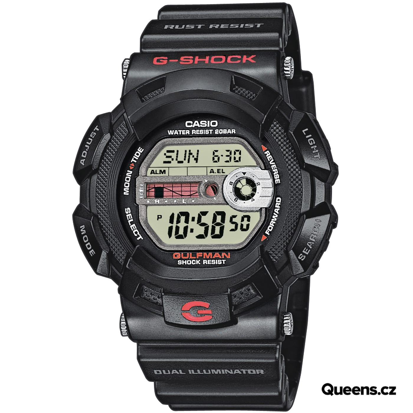 Casio G-Shock G 9100-1 black