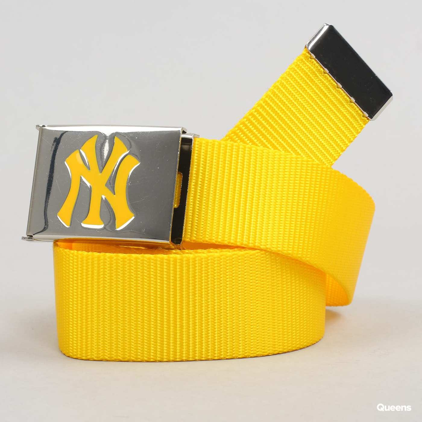 MD MLB Premium Woven Belt Single NY žltý