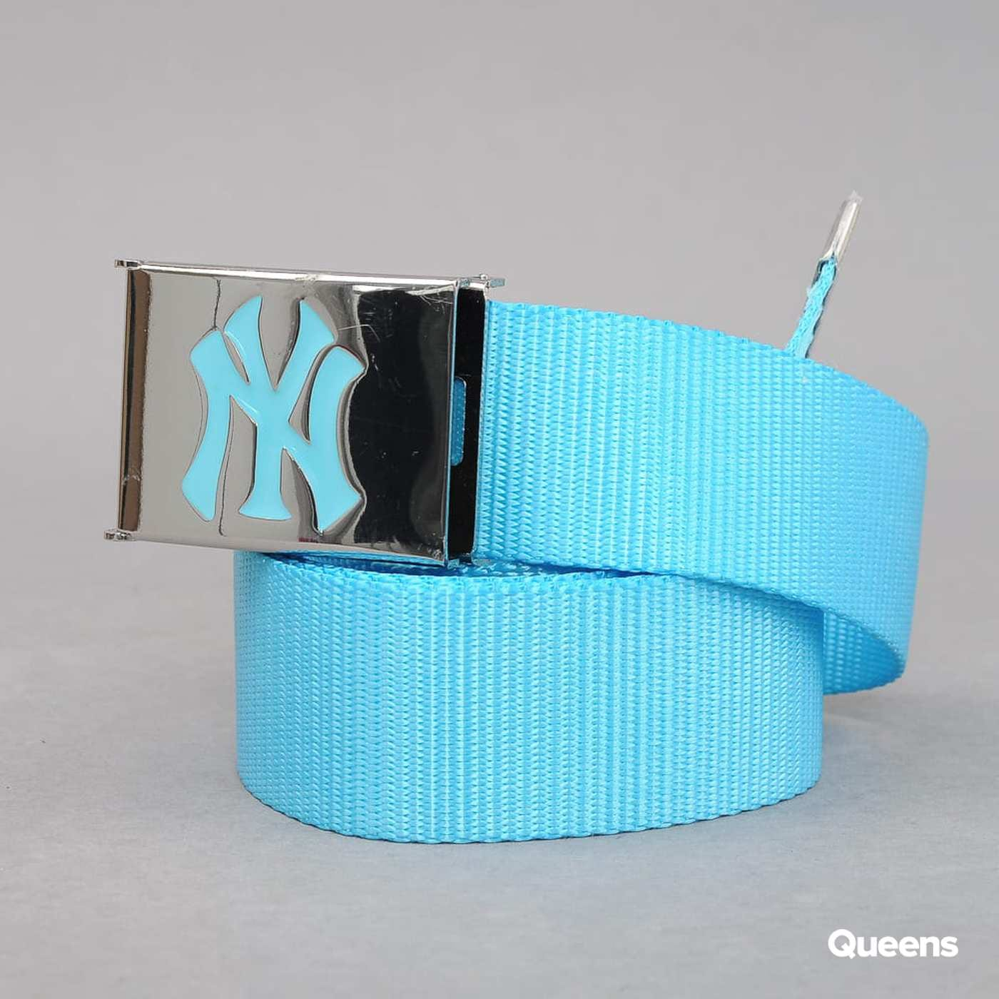 MD MLB Premium Woven Belt Single NY tyrkysový