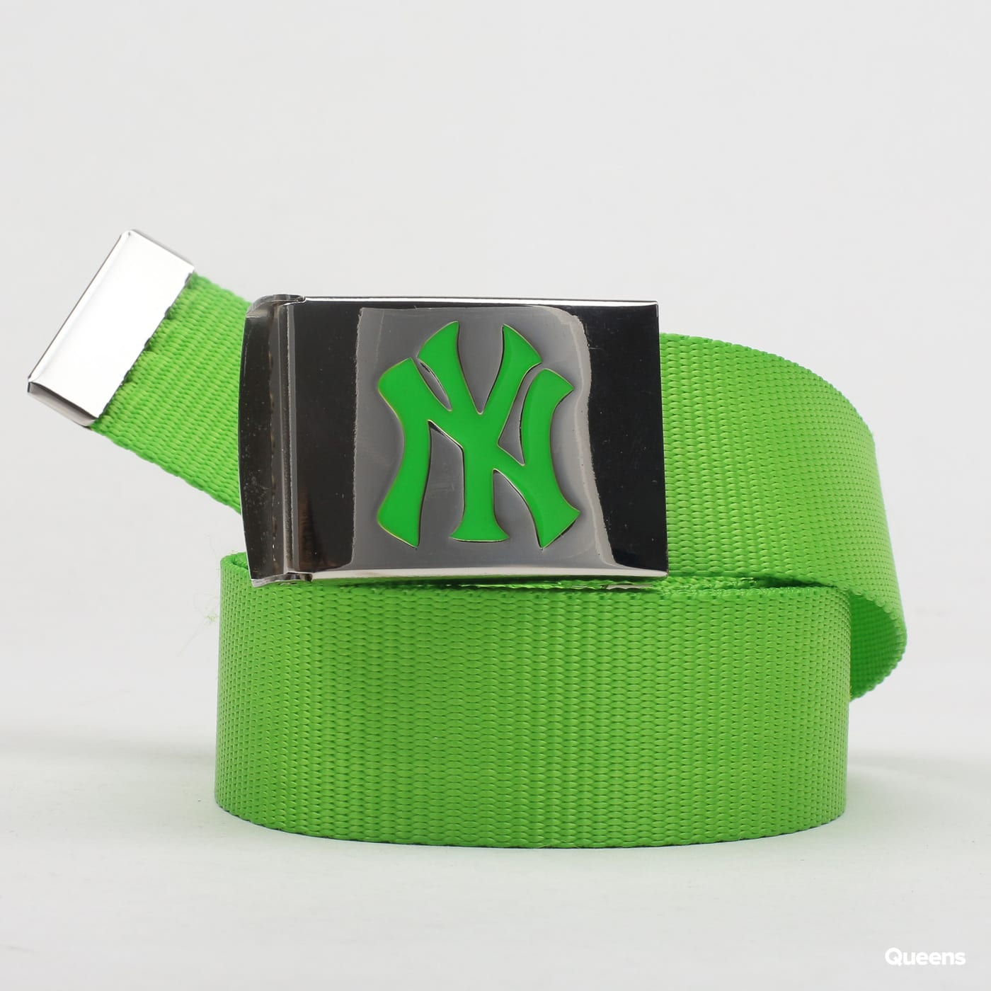 MD MLB Premium Woven Belt Single neónovo zelený