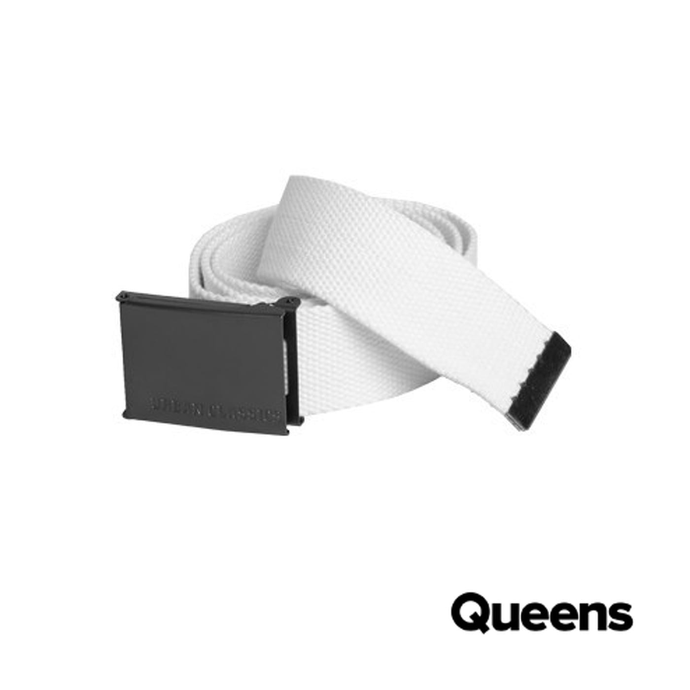 Urban Classics Canvas Belt weiß