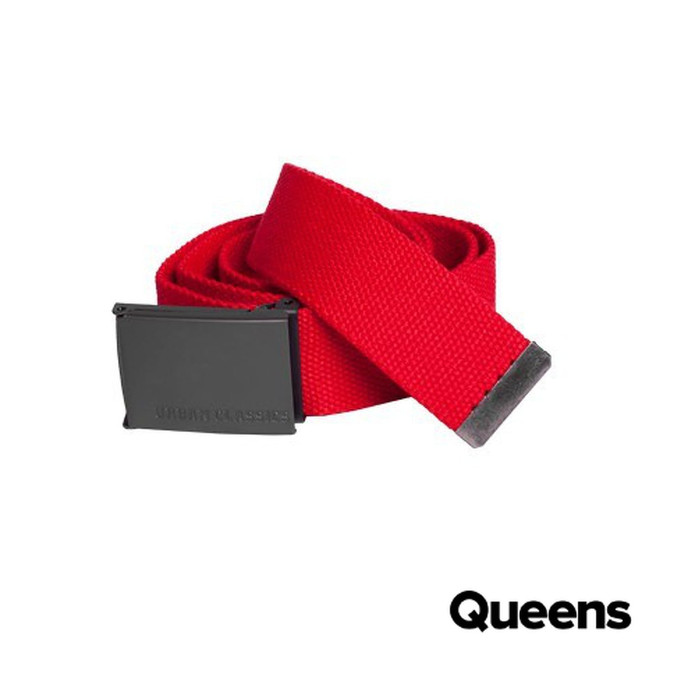 Urban Classics Canvas Belt red