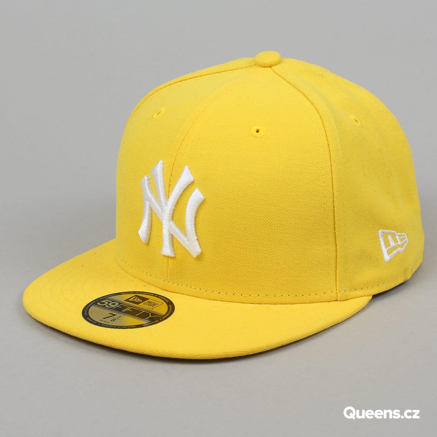 New Era MLB Basic NY gelb / weiß