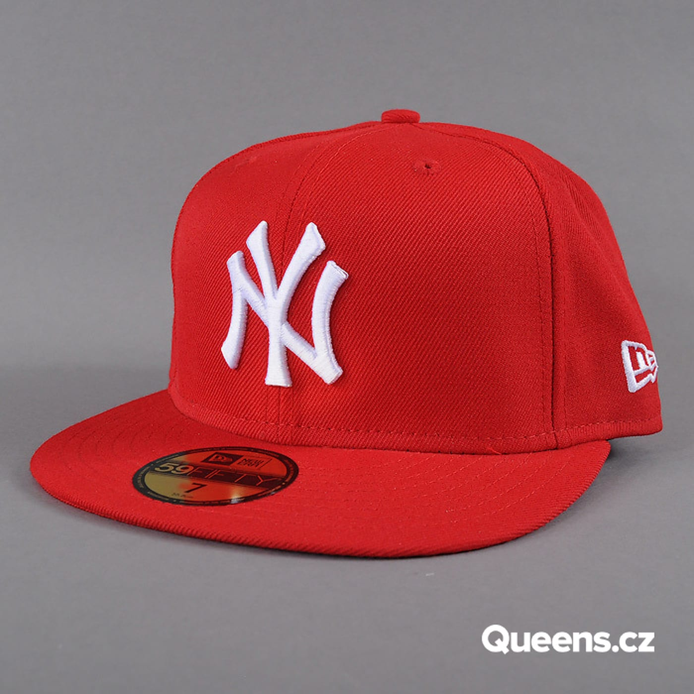 New Era MLB Basic NY rot / weiss