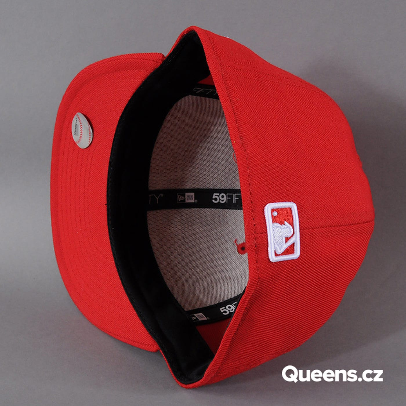 New Era MLB Basic NY red / white